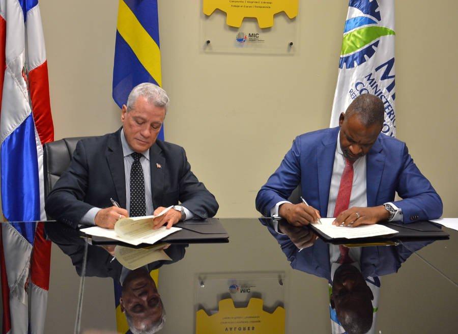 República Dominicana y Curazao firman acuerdo